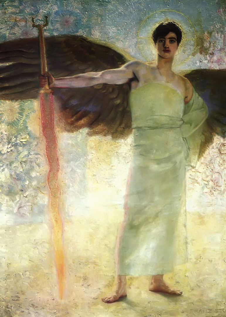 The Guardian of Paradise, by Franz von Stuck