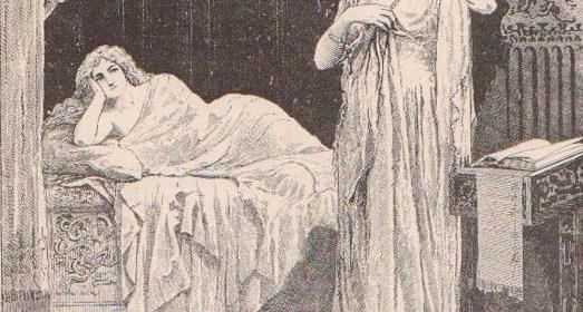 The Bed Scene from Samuel Taylor Coleridge's Christabel