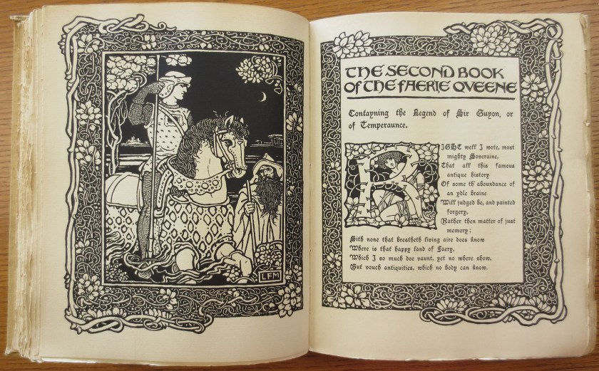 The Faerie Queene, illustrated by Aubrey Beardsley