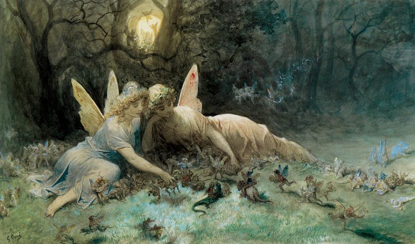The Faeries, by Gustav Dore