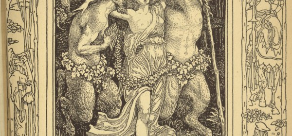 Hellenore and the Satyrs from The Faerie Queene