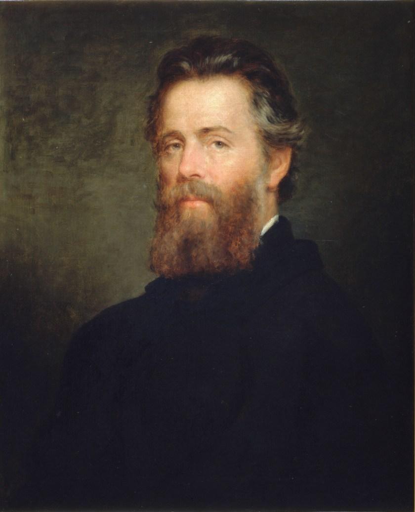 Herman Melville, by Joseph Oriel Eaton