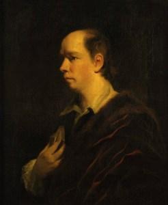Oliver Goldsmith, by Sir Joshua Reynolds