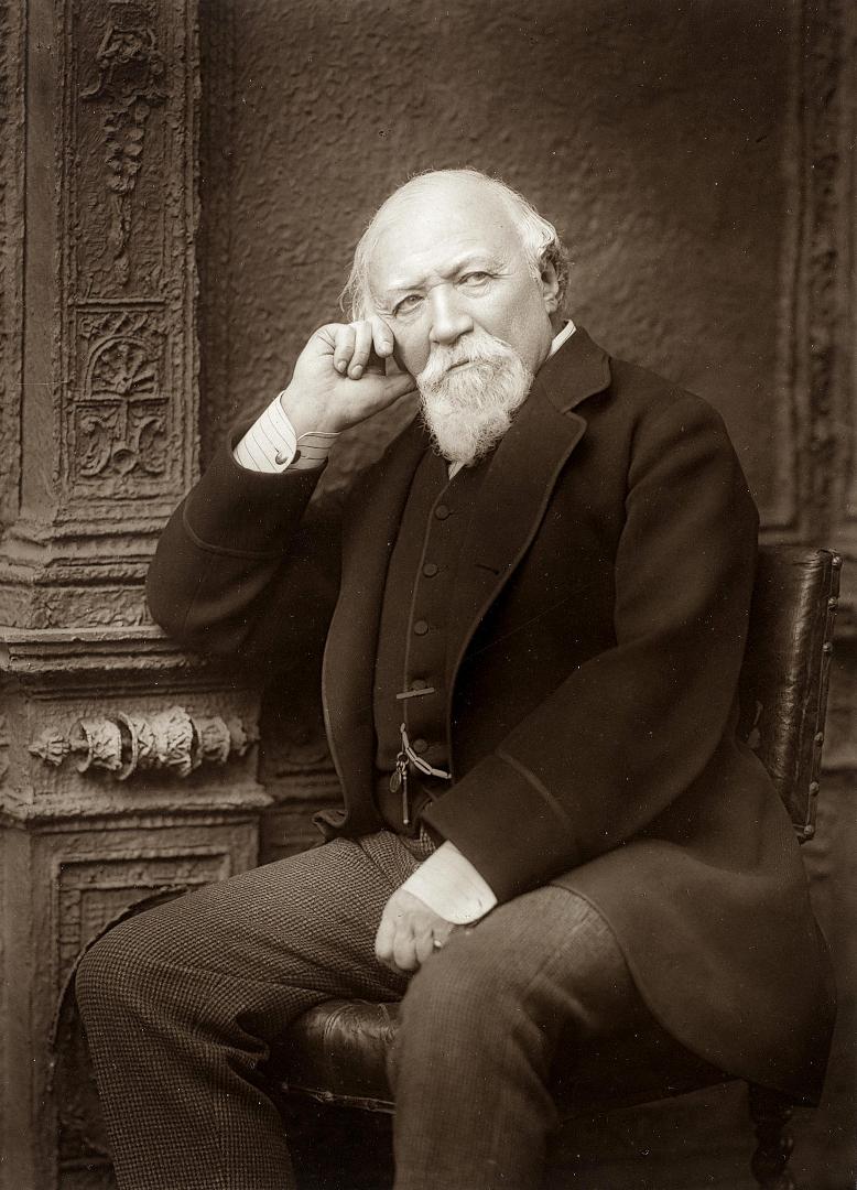 Robert Browning, by Herbert Rose Barraud (1888)