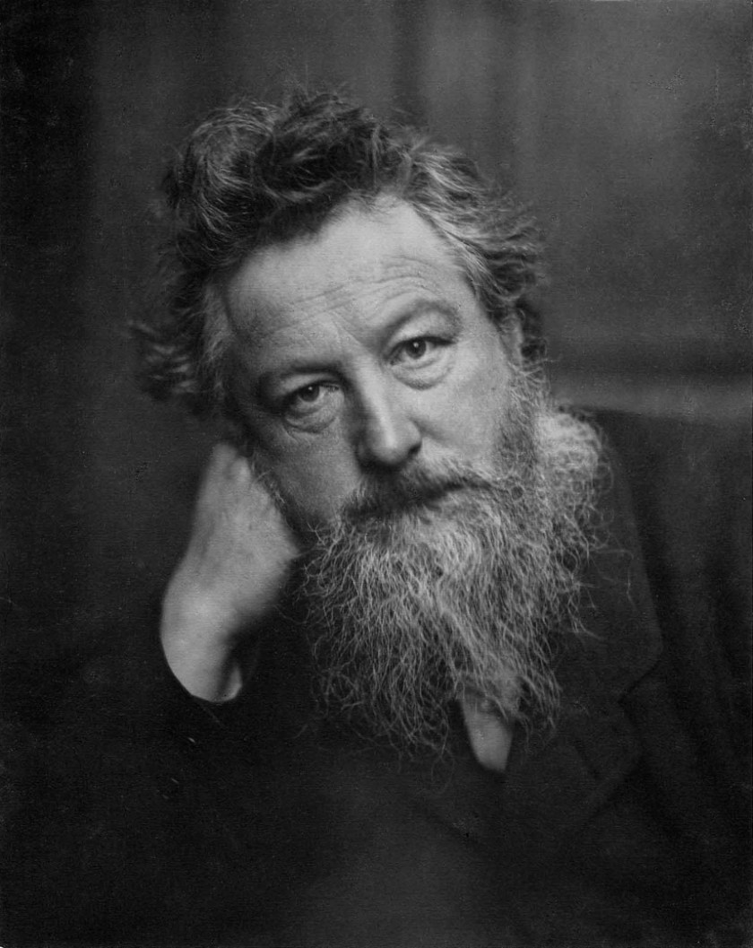 William Morris, by Frederick Hollyer