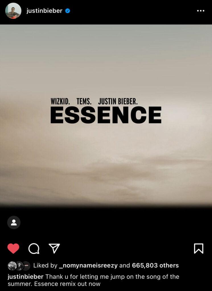 Wizkid-–-Essence-Remix-ft-Tems-Justin-Bieber