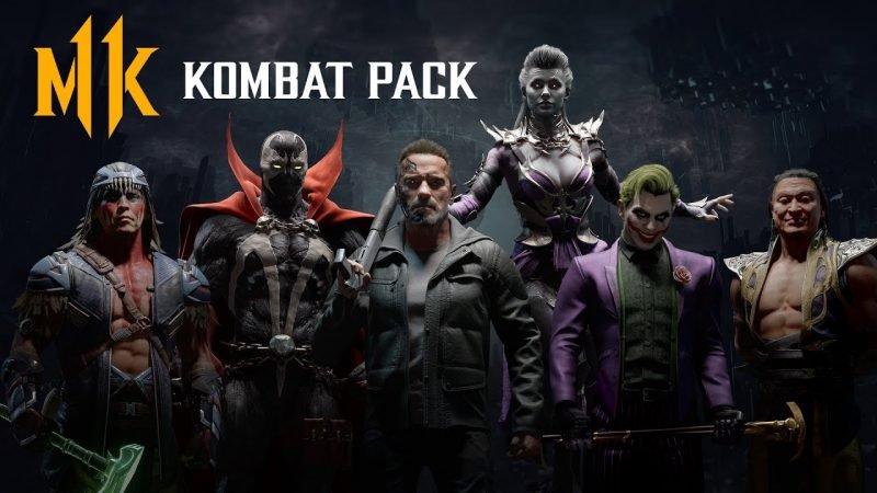 """Mortal Kombat 11"" Kombat Pack – Official Roster Reveal Trailer."