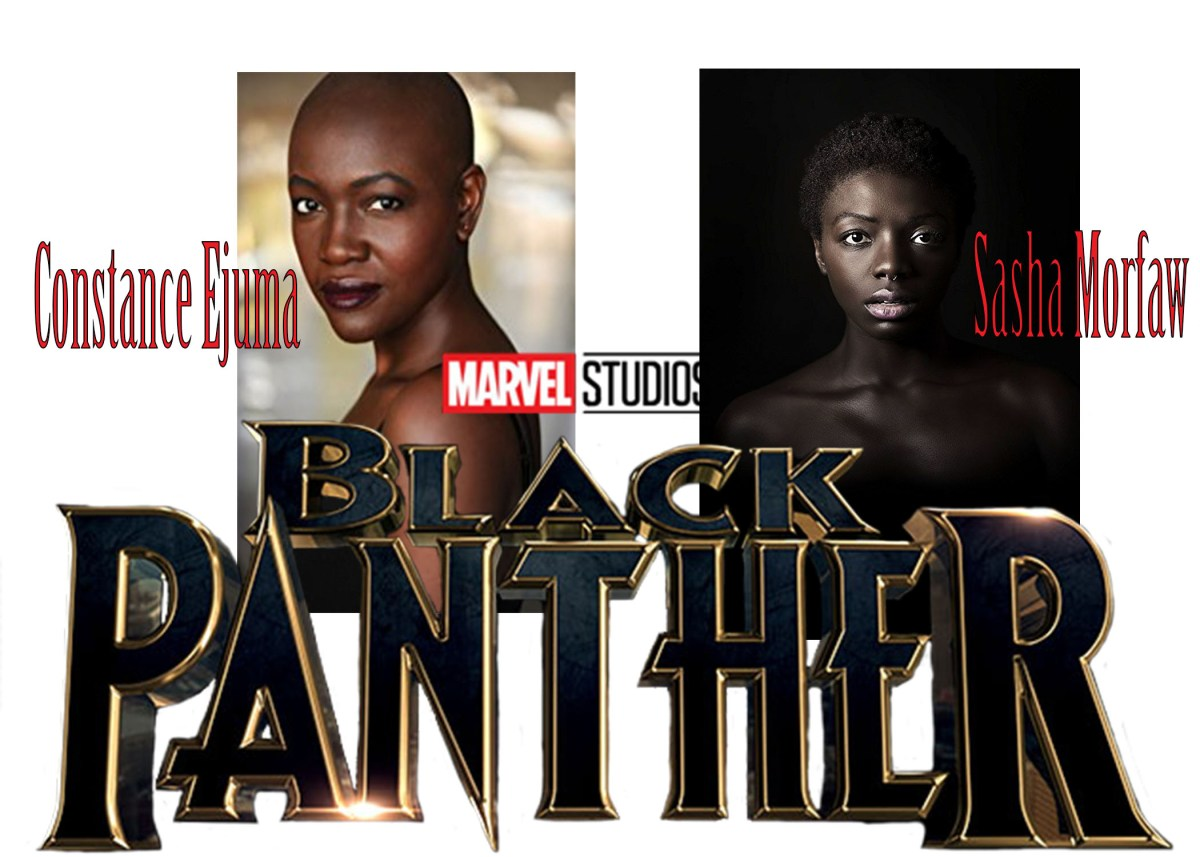 [WOW]: Two Cameroonian Actresses Constance Ejuma and Sasha Morfaw star in the most anticipated Upcoming Hollywood Movie – The Black Panther –