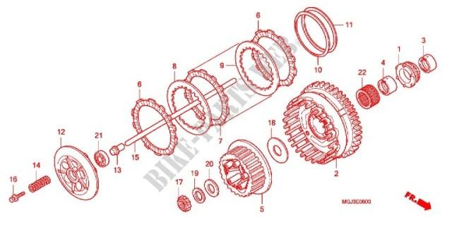 Révision 110000Kms + kit chaine = fuite d'huile + changement du pneu arrière !