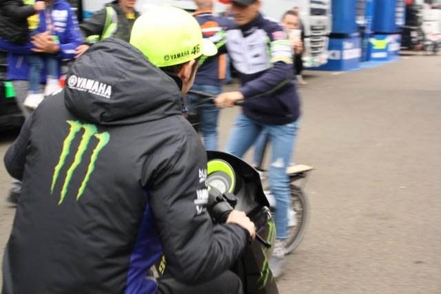 Mes anecdotes MotoGP : Rossi me fonce dessus au Mans en 2019