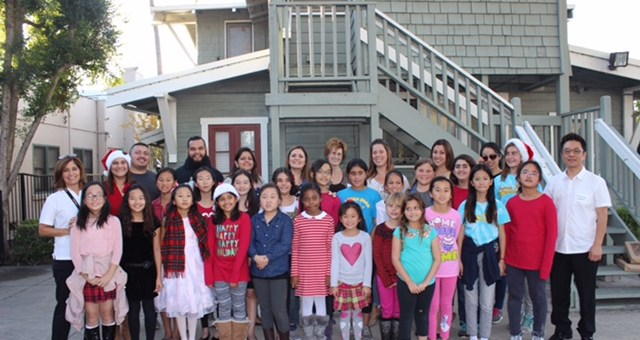 Laguna Road Choir Visits Crittenton