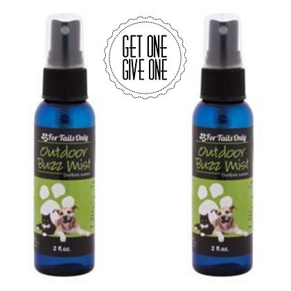 For Tails Only Outdoor Buzz Mist Critter Caretakers Pet Services Youngevity Outdoor Buzz Mist