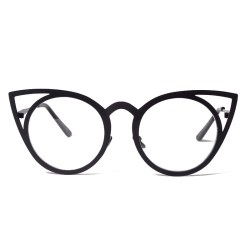 4267411d81ea Women Sunglasses Vintage Cat Eye Sun Glasses Metal Eyeglasses Frames