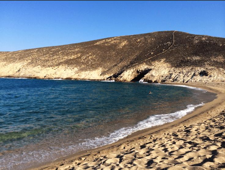 Greece Trip- Fokos Beach - Mykonos - Marcia Crivorot