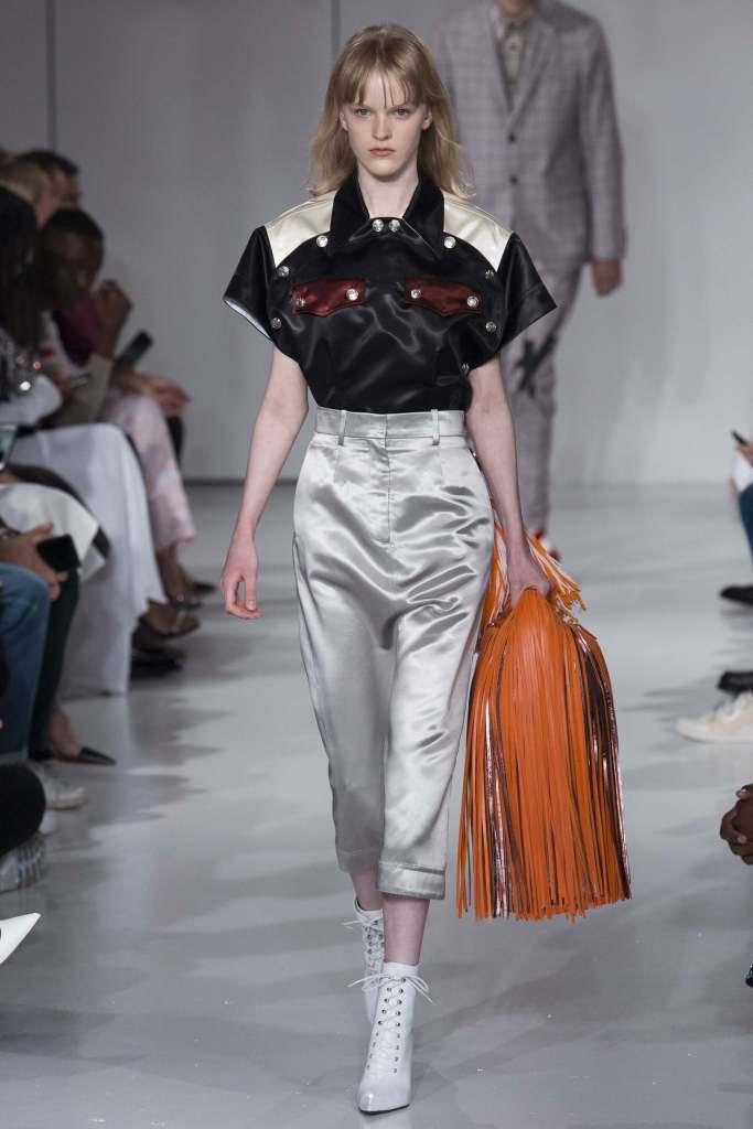 Calvin Klein Spring 2018 - Semana de Moda de NY - NYFW - Crivorot & Scigliano - tendencias
