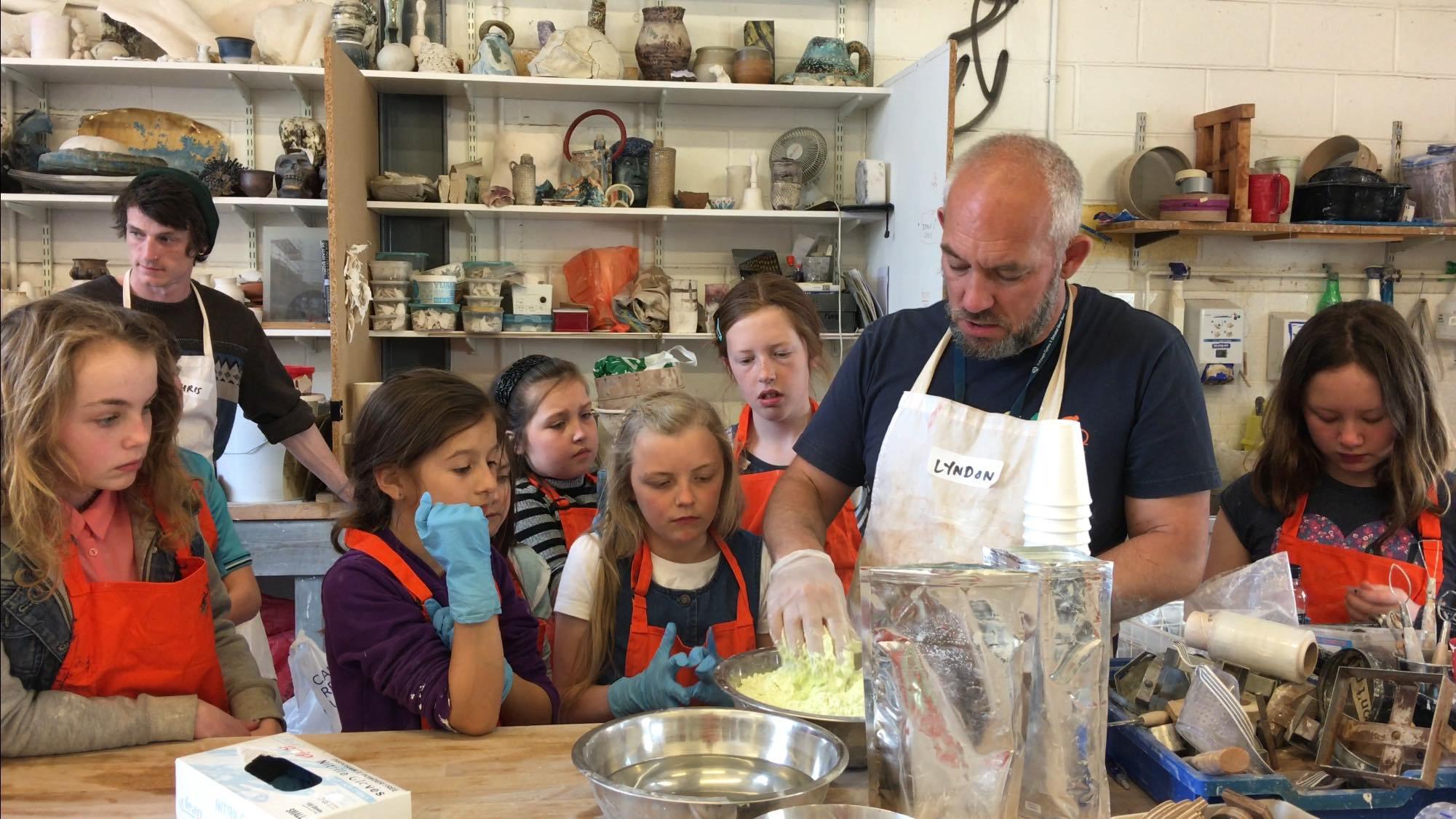 Ceramics masterclass with Lyndon Davies