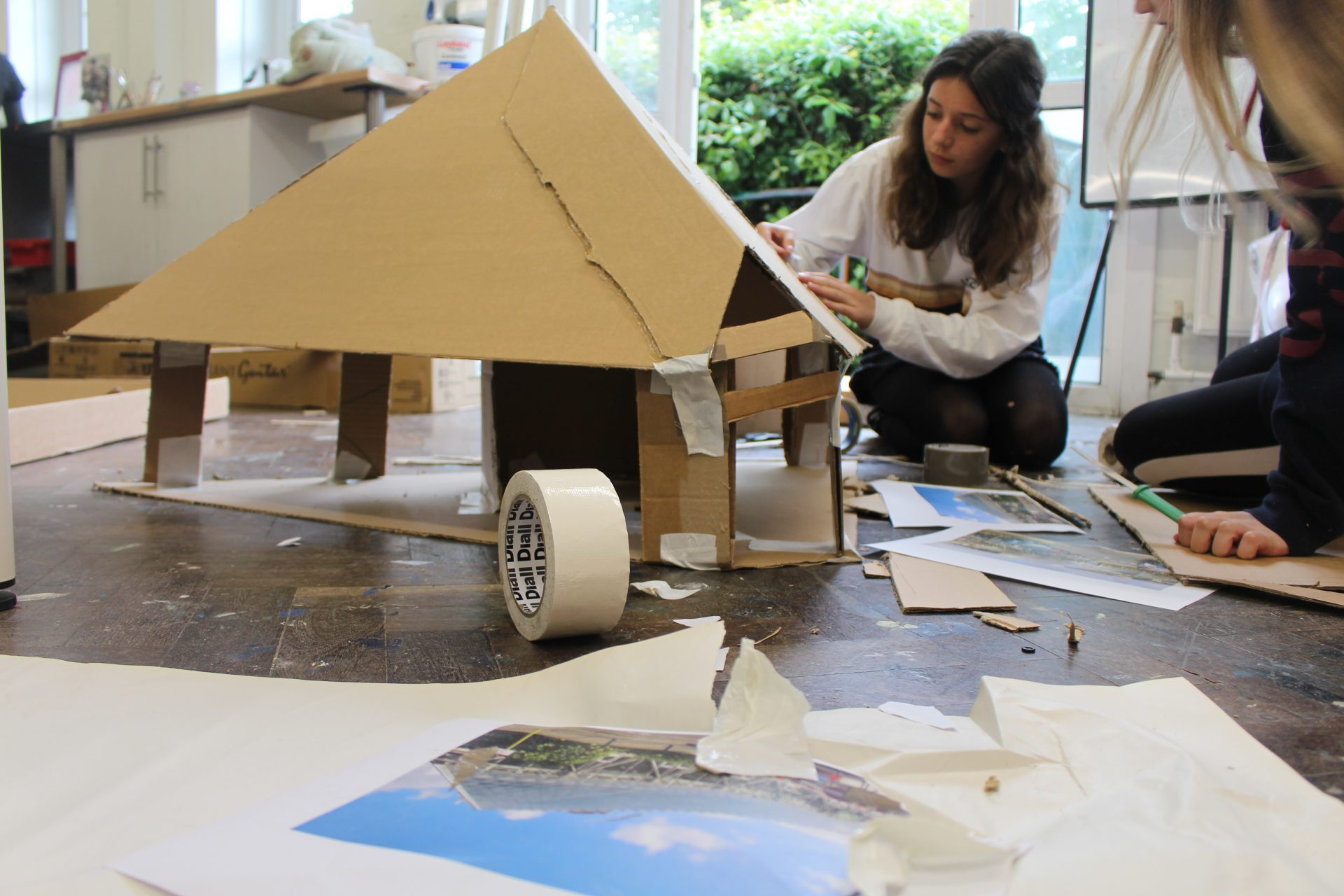Cardboard Sculpture masterclass with Coral Williams