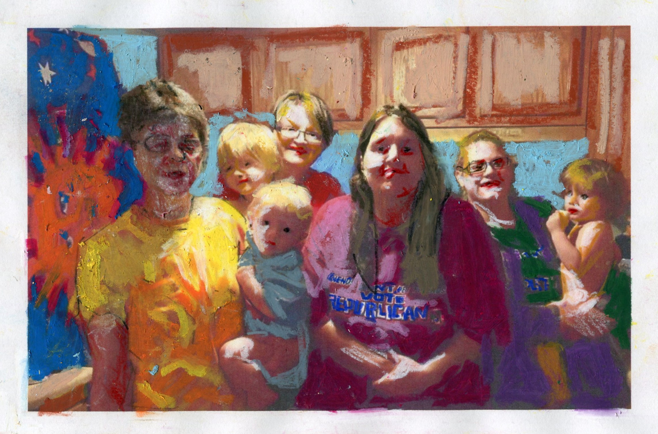 Portrait of My Friend's Family #2