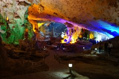 Cave near Halong Bay