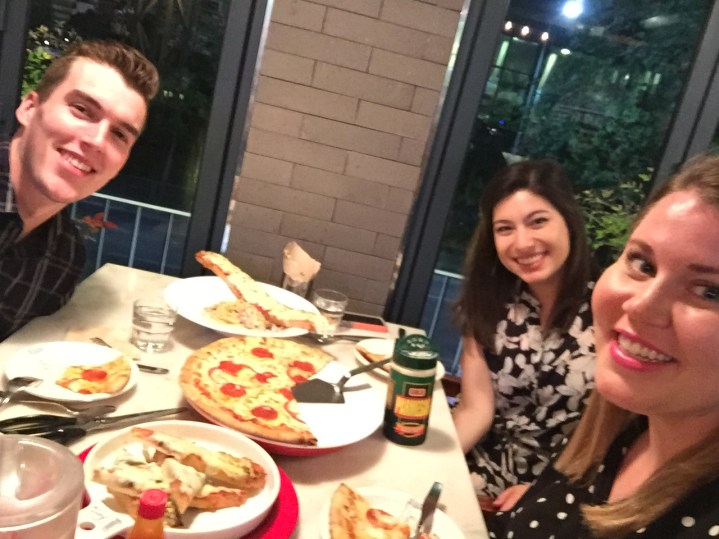 Night out for some pizza :)