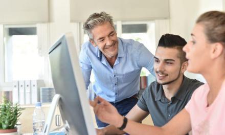 CRM als online leeromgeving voor leerwerkbedrijf