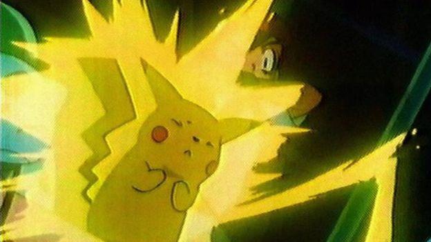 Así era Pikachu en 1997, cuando apareció por primera vez en televisión.