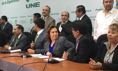 Sandra Torres recibió el permiso para reunirse con los miembros del partido del que aún es Secretaria General. (Foto: Archivo)