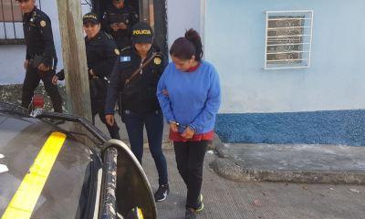 Andrea Gabriela Arriola Hernández fue capturada en allanamientos en la zona 6.