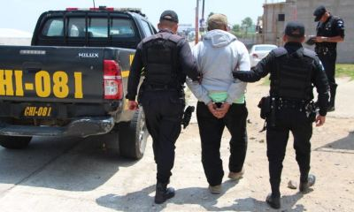 Federico Cabrera Guzmán recibió una condena de 24 años de prisión inconmutables por violar a una niña de 12 años. (Foto: Twitter PNC)
