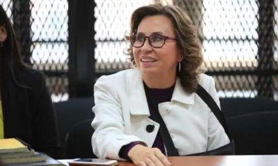 Sandra Torres saldrá de prisión con arresto domiciliario y una multa económica de Q800 mil. (Foto: El Periódico)