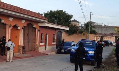 Las autoridades realizaron un allanamiento en la casa de Osorio Reyes pero no lograron su captura. (Foto: PNC)