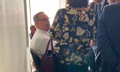 El exministro de salud Carlos Soto se presentó al Juzgado Tercero de Primera Instancia Penal. (Foto: Cortesía)