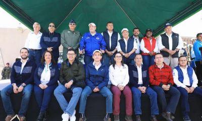 El Presidente Alejandro Giammattei junto a su vicepresidente Guillermo Castillo y sus Ministros, visitaron Quetzaltenango durante cinco días. (Foto: Gobierno de Guatemala)