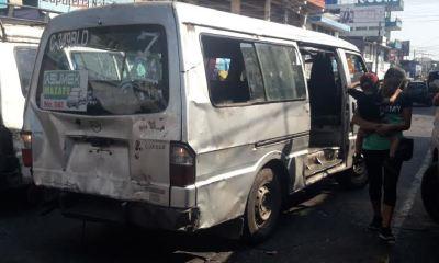 Las unidades de transporte público de Mazatenango se encuentran en mal estado. Los pobladores demandan mejores en el servicio. (Foto: Cristian Soto)