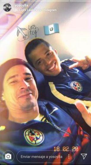 Esta imagen de Guillermo Ochoa junto a Giovanni Dos Santos, fue compartida por Ochoa en sus redes sociales. (Foto: Instagram)