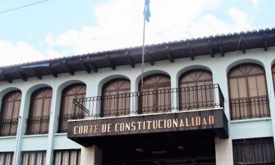La Corte de Constitucionalidad decidió suspender el decreto que da vida a la Ley de ONG. (Foto: Elsiglo.com.gt)