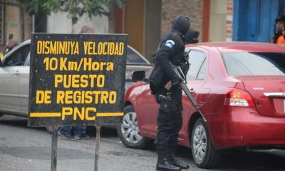 Las autoridades reportaron la captura de 27 personas en diferentes operativos en la Ciudad Capital. (Foto: PNC)