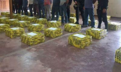 Las autoridades han logrado millonarias incautaciones de droga en el el último mes y medio en Guatemala. (Foto: DCA)