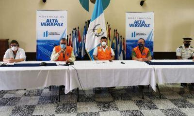Las autoridades de gobernación departamental y de salud de Alta Verapaz dieron a conocer los nuevos casos en el departamento. (Foto: Twitter)