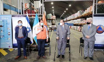 Guatemala recibió una máquina que genera agua del aire, donada por una empresa israelí, para la atención de emergencias y que será administrada por CONRED. (Foot: CONRED)