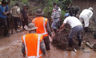 Las lluvias dejaron casi medio millón de guatemaltecos afectados debido a su intensidad durante la última semana. (Foto: AGN)