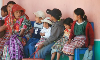 Muchos niños de Quetzaltenango no han podido recibir su respectiva vacunación, debido a la pandemia del COVID-19. (Foto: Carlos Ventura)