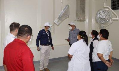 Las autoridades analizan utilizar las instalaciones del Hospital de Quirigua, en Izabal, para atender pacientes con COVID-19. (Foto: AGN)
