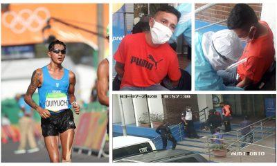 El ex marchista olímpico Jaime Daniel Quiyuch denunció haber sido secuestrado, atado y golpeado el viernes de la semana anterior. Además le robaron el vehículo en el que trabajaba como Uber. (Foto: Corteía)