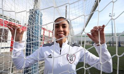 """Ana Lucía Martínez, """"Analú"""", cuando jugaba en el Madrid"""