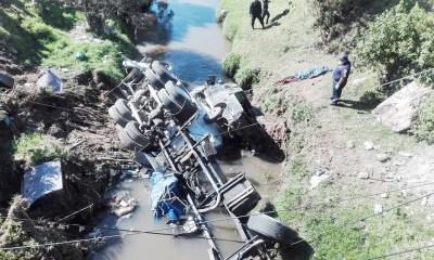 Fatal accidente en Quetzaltenango