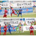 Ramiro Rocca celebró el gol para Municipal y Lauro Cazal lo hizo más tarde para Cobán Imperial. (Foto: Eduardo Sam)