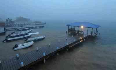 La tormenta tropical Nana atravesó Guatemala sin causar mayores daños y se degradó en la frontera con México. (Foto: El Litoral)
