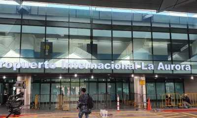 El Aeropuerto La Aurora tendré su reapertura a partir de este viernes 18, según lo que autorizó el Gobierno del Presidente Alejandro Giammattei. (Foto: Todos)