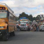 El próximo jueves se definirá qué día se realizarán los ensayos para el regreso del transporte extraurbano en Quetzaltenango. (Foto: Carlos Ventura)